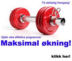 MANUAL vekter trening sjekk effektive programmer som er helt gratis fra trim.no. Gym Equipment