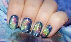 *Nails* Silvesternägel - space nails - alive4fashion