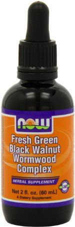 Amazon.com: Now Foods Fresh Green Black Walnut Wormwood Complex, 2-Ounce: Health & Personal Care...Speaking of PARASITES...you NEED a bottle of this in your medical kit! Helps to rid the body of worms, yeast, and other nasties
