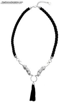Bill Skinner Snow Leopard Statement Necklace at Heatherscollectables.com