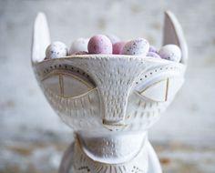 Mr Milly's ceramic deer fox ice cream bowl (also for mini eggs)