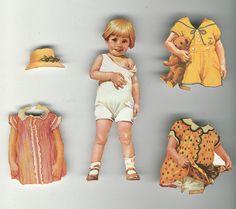 Vintage Paper Dolls   by takeabreak