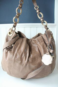 Vince Camuto Brown Cristina Hobo Handbag 248 00