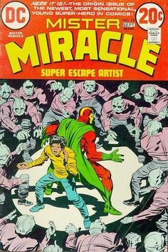 Before Rhodey Rhodes: Jack Kirby personally anoints Shilo Norman as Mister Miracle's heir to the name!