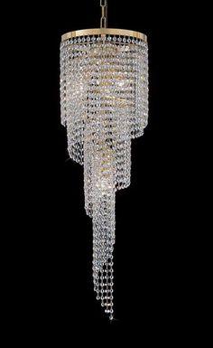 TOPDOMUS Crystal Lead or Swarovski Chandelier or 466 50 Chrome or Gold Fixture | eBay