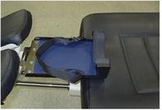 Внешний вид приспособления для шейной тракции на kinetrac knx-7000