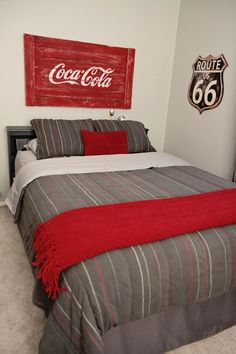 DIY Coca-Cola sign