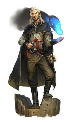 Male Human Bard - Pathfinder PFRPG DND D&D d20 fantasy