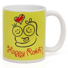 Rakhi Mug Rs 399/- http://www.tajonline.com/rakhi-gifts/product/r3916/rakhi-mug/?aff=pint2014/