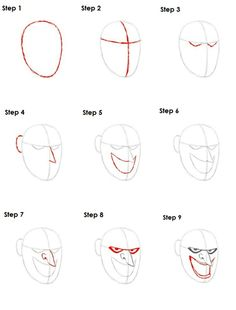 How to Draw the Joker   Drawing Tutorial