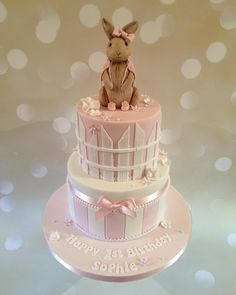 Another Flopsy Bunny cake #happybirthday #happy #firstbirthday…