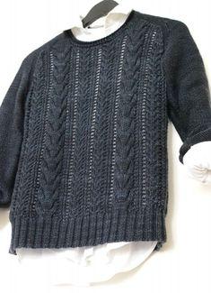 New knitting patterns cable sweater brooklyn tweed 68 Ideas Summer Knitting, Knitting For Kids, Free Knitting, Brooklyn Tweed, Cable Sweater, Knit Sweaters, Pulls, Knit Crochet, Knitwear