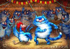 Просмотреть иллюстрацию Кот и Петух зажигают в клубе из сообщества русскоязычных художников автора Рина З. в стилях: Классика, нарисованная техниками: Компьютерная графика.