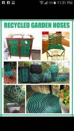 Old garden hoses