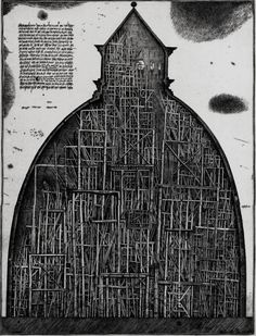 Constrained by the Limitations of Soviet-Era Architecture, Brodsky & Utkin Imagined Fantastical Structures on Paper  http://www.thisiscolossal.com/2015/09/paper-architecture-brodsky-utkin/