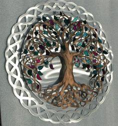 Tree of Life  Infinity Tree Wall Decor  by HumdingerDesignsEtsy, $250.00