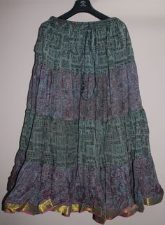 pattern for a 25 yard skirt