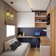 Small room design – Home Decor Interior Designs Home Room Design, Home Office Design, Home Office Decor, Interior Design Living Room, Home Decor, Office Ideas, Office Designs, Study Room Design, Small Home Offices