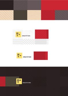 M+T Arquitetura Identity and Website on Behance