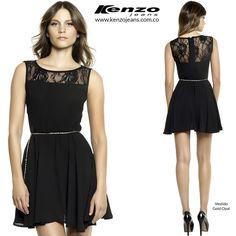 Vestidos delicados y modernos, son fabulosos para lograr un #look muy femenino. #KenzoJeans www.kenzojeans.com.co