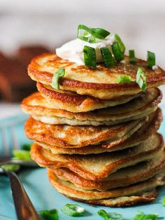 Pancake Recipes: Polish Style Potato Pancakes