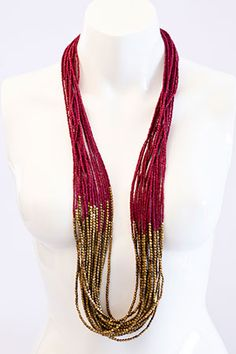 great beads to throw onto any outfit and add that worldly, bohemian touch