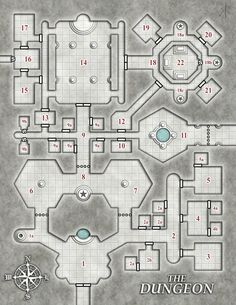 Dwarven ruins 24 world building pinterest rpg dungeon maps foto need a basic dungeon map for your module zine or similar gumiabroncs Gallery