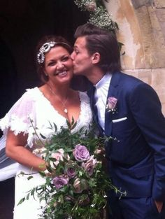 Louis with his mom <3