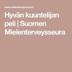 Hyvän kuuntelijan peli | Suomen Mielenterveysseura