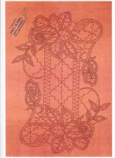 Archivo de álbumes Irish Crochet Tutorial, Bobbin Lace Patterns, Point Lace, Needle Lace, Line Design, Crotchet, Vintage World Maps, Diy Crafts, Album
