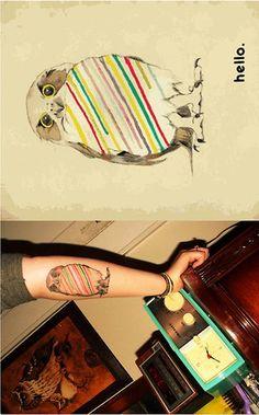 - #tattoo #owl