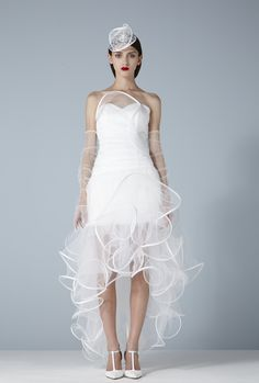 Robe Opera longue. Collection MARIÉE http://www.suzanne-ermann.com