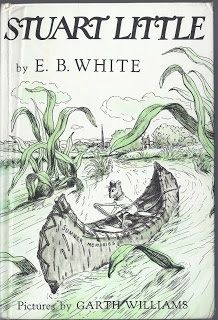 Stuart Little by E B White  Definitely does not hold a candle to Whites other classics Charlottes Web or Trumpet of the Swan, but does have some very amusing scenes.