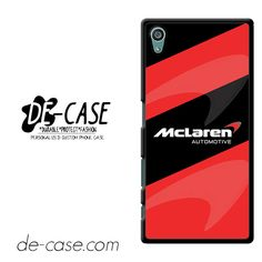 Mclaren Automotive DEAL-7010 Sony Phonecase Cover For Xperia Z5