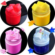 Toys & Hobbies Chamsgend Toy Plasticine Crysta Blink Jelly Soft Slime Scented Stress Relief Toy Fun Sludge Slime Plasticine Toys Ap9 A Great Variety Of Models