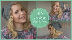 I love this tutorial for a crochet beanie. Just made a blue one with a red pouff for my brother in law Drew. :)