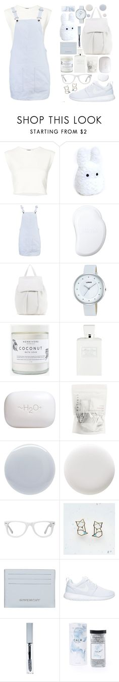 """serenity"" by moneanemone ❤ liked on Polyvore featuring Puma, Ghibli, Boohoo, Tangle Teezer, Mansur Gavriel, Lorus, Herbivore, Christian Dior, H2O+ and Deborah Lippmann"