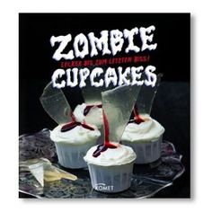 Muffins and Cupcakes have been covered in pink icing and hundreds and thousands for far too long. Here come ghoulish and bizarre looking, yet incredibly tasty cupcake recipes from the witch's kitchen!