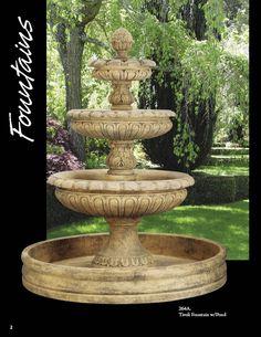 trickle of water.....relaxing garden
