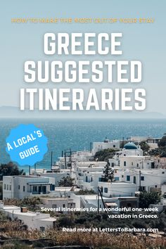 Europe Travel Guide, Travel Guides, Travel Tips, Greece Vacation, Greece Travel, Amazing Destinations, Travel Destinations, Greece Itinerary, Greece Holiday