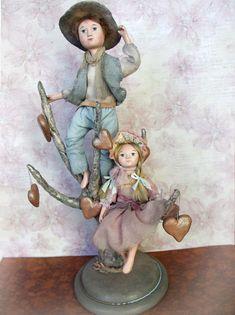 Art doll OOAK  Handmade interior doll The от BalyginaArtDolls