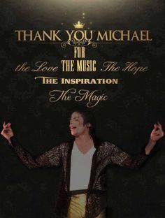 Thank You Michael