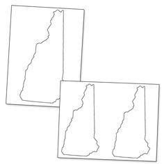 Printable Shape of California from PrintableTreats.com