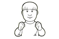 Jaksaa (Kuva: Elina Vanninen) School Signs, Sign Language, Fictional Characters, Art, Art Background, Kunst, Gcse Art, Fantasy Characters