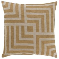 Toss Pillow Linen Luxe Lined