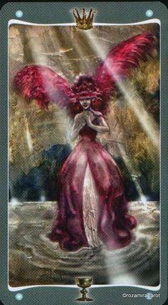Queen of cups Fairy Lights tarot