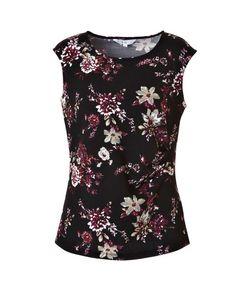 Textured Floral Garnet Top #cleofashion | Cleo