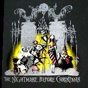 Nightmare before Christmas t-shirt - Vintage Basement