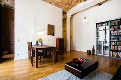 Fantastic Home Exchange in Friedrichshain, Berlin, with gay couple Steffen & Andre- Home Around the World Berlin Apartment, Lofts For Rent, Home Exchange, Industrial Loft, City Architecture, Cribs, Living Spaces, Sweet Home, Germany