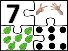 7 Kindergarten Math Worksheets, Preschool Math, Teaching Math, In Kindergarten, Kids Learning Activities, Montessori Activities, Math Concepts, Learning Through Play, Math Games